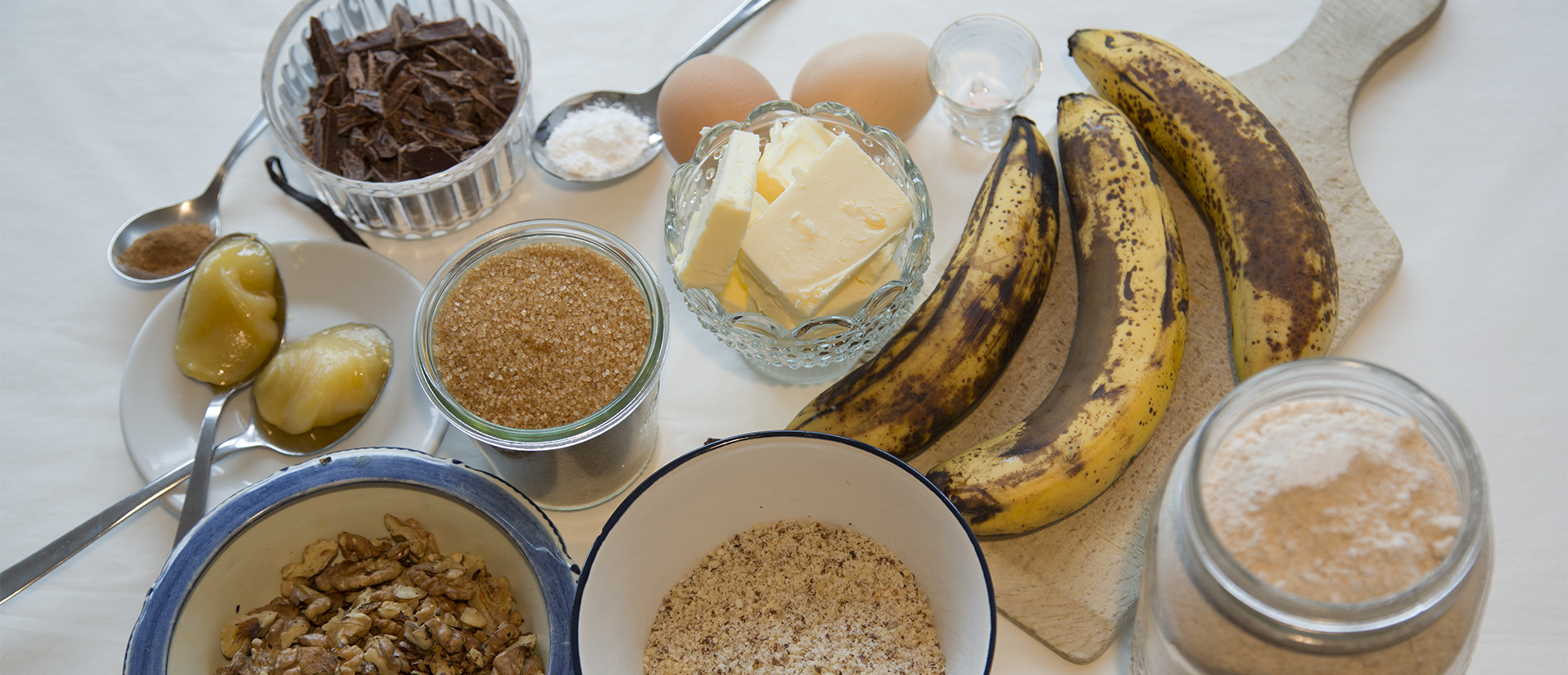 food waste and banana bread by green&hungry